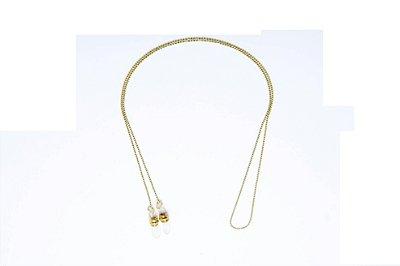 CORRENTE Metal Modelo: C-196 cor Ouro