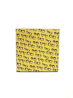 PORTA COPOS_Kit com 06 unids. Modelo: SANT cor Amarelo