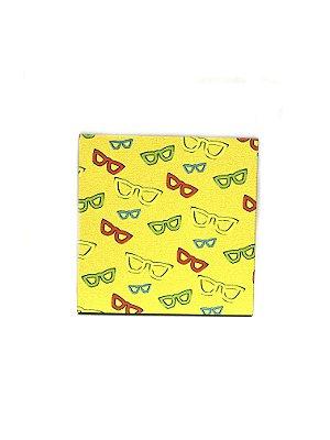 PORTA COPOS_Kit com 06 unids. Modelo: BLS II cor Amarelo