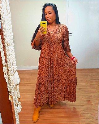 Vestido Tule Estampa  Oncinha Coração Dress To