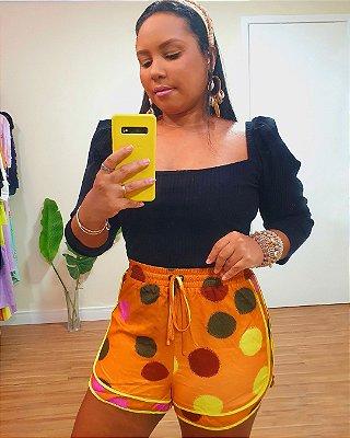 Short Estampa Orabolas - Dress To