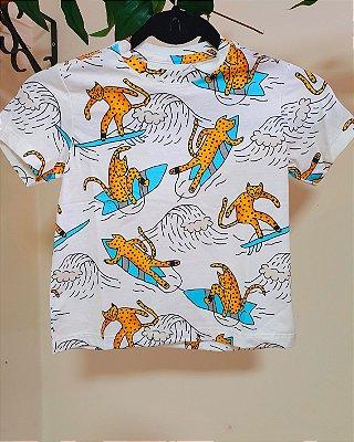 Camiseta Pororoca Off White - Bento