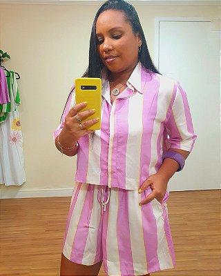 Short Estampa Lilly Lavanda - Dress To