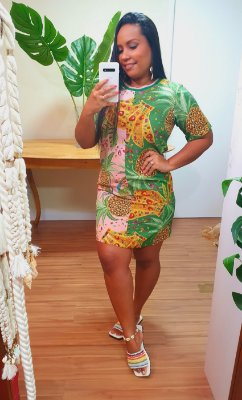 Vestido Farm T-shirt Mix de Fruta