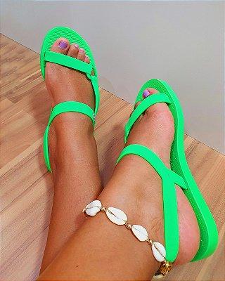 Melissa Sun Downto Verde Fluor
