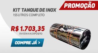 Tanque de Inox 155 Litros