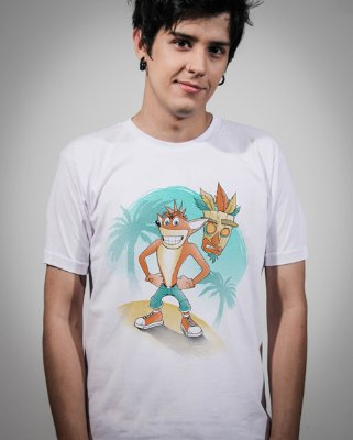Camiseta Crash Bandicoot