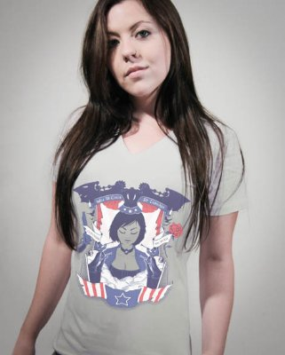 Camiseta Feminina  Bioshock Infinite