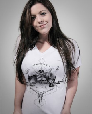 Camiseta Feminina Assassins Creed