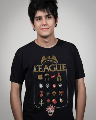 Camiseta League of Legends LoL 2