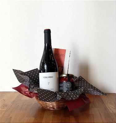 Vinho e Geleia Trufada