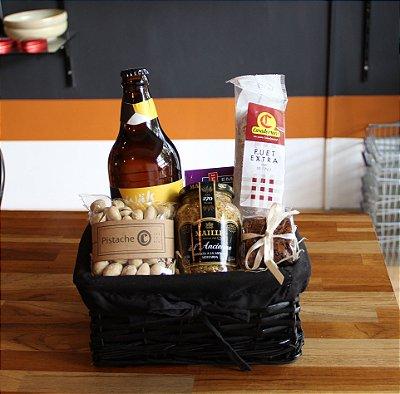 Cerveja e Fuet