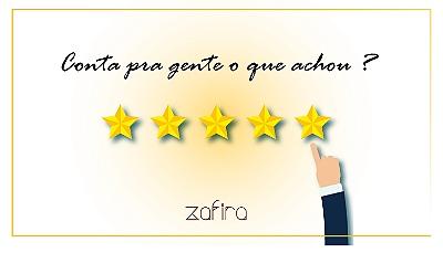mini  banner avaliação
