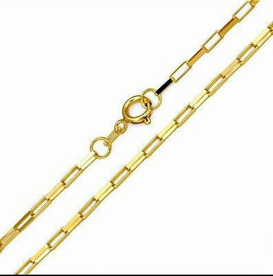 Cordão Cartier Folheado a Ouro 18K