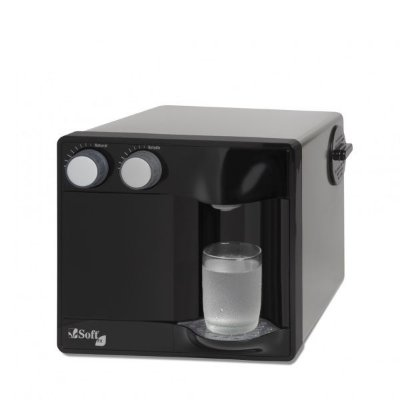 Purificador de Água Soft Fit by Everest - Preto (Com Refrigeração)