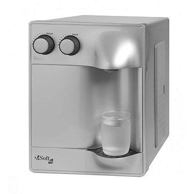 Purificador de Água Soft Plus by Everest - Prata (Com Refrigeração)