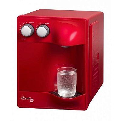 Purificador de Água Soft Slim by Everest - Cereja (Com Refrigeração)