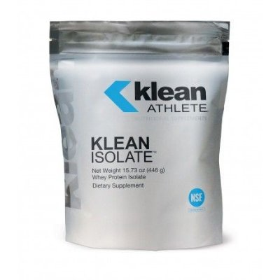 09. Whey Protein Isolate - KLEAN ISOLATE (Klean Athlete / USA) - 446g