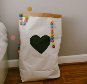 Saco Organizador Coração