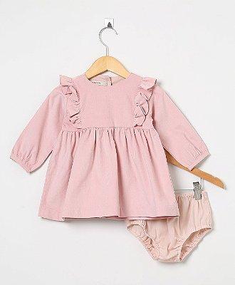 Vestido Veludo Baby