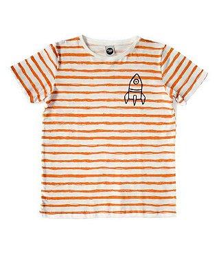 Camiseta Foguete Listras