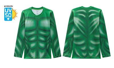 Camiseta Hulk Proteção Solar