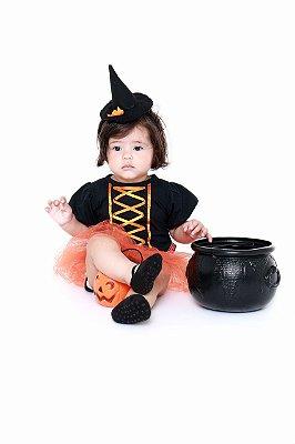 Bruxa Laranja Bebê