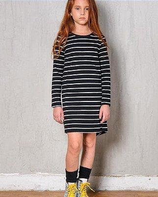 Vestido White Stripe