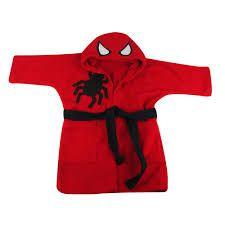 Roupão Homem Aranha