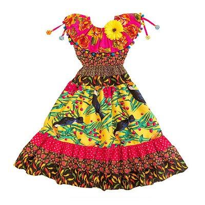 Vestido Pomar