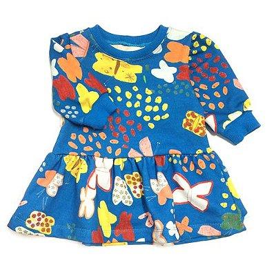 Vestido Borboletinha Baby