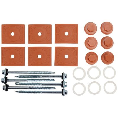 Kit De Fixação Telha PVC