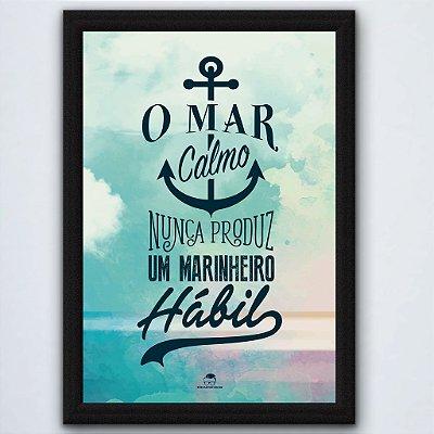 QUADRO - O MAR CALMO