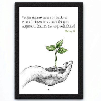 QUADRO - UMA SEMENTE