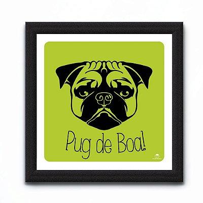 CONJUNTO QUADROS - PUG DOG