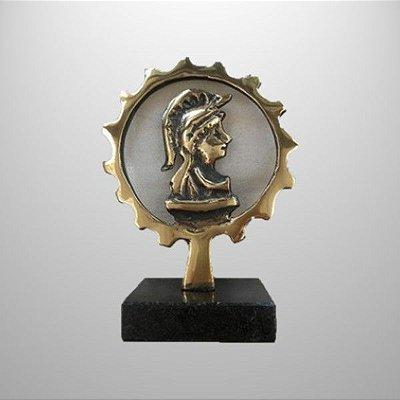 """""""Engenharia"""" - 16 cm - escultura de bronze"""