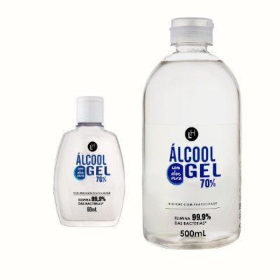 Kit Álcool Gel