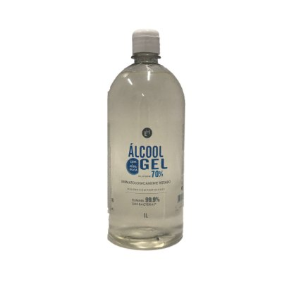 ÁLCOOL GEL 1 LITRO - TAMPA (CELLOSIZE)