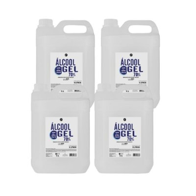 Álcool em gel 70% - 5L