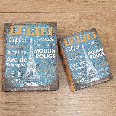 Kit livro caixa - Paris