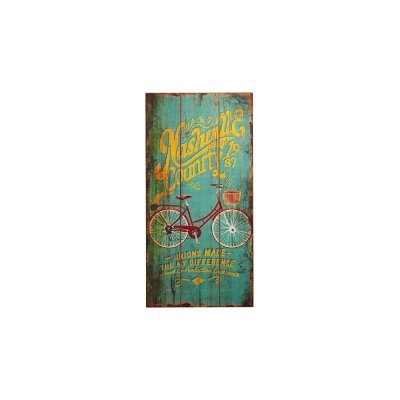 Placa decorativa - Nashville Country