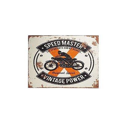 Placa decorativa - Speed master