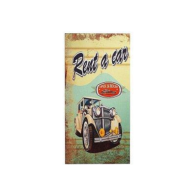 Placa decorativa - Rent a car