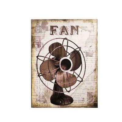 Placa decorativa - Fan
