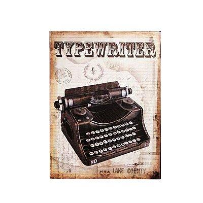 Placa decorativa - Typewriter
