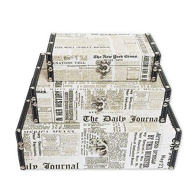 Kit caixa - Jornal