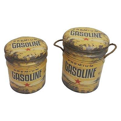 Banco lata - Gasoline