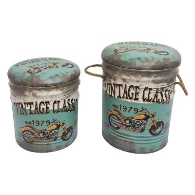 Banco lata - Vintage class