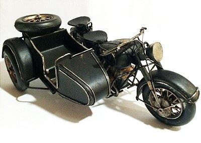 Miniatura Motocicleta com sidecar 1