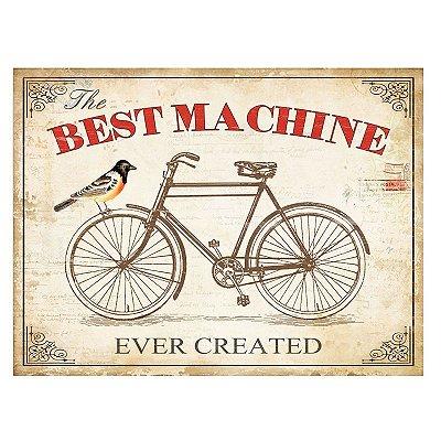 Placa decorativa - Best machine